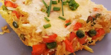 Allerfeinster Reis-Gemüse-Auflauf