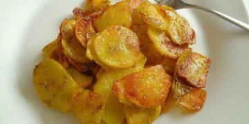 Bratkartoffeln nach mediterraner Art