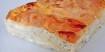 Burek oder Börek, wie mein Mann ihn macht