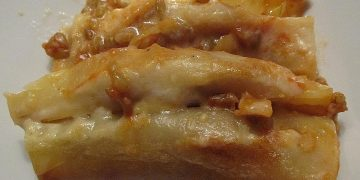 Cannelloni mit Grünkern