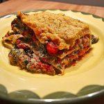 Cashew-Spinat-Lasagne