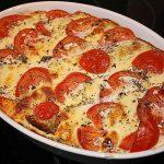 Couscousauflauf Tomate-Mozzarella