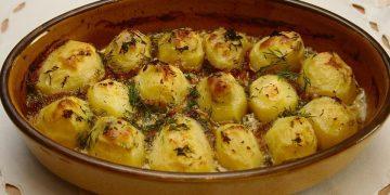 Dithmarscher Sardellen-Kartoffel-Auflauf