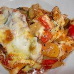 Einfache Gemüse - Lasagne