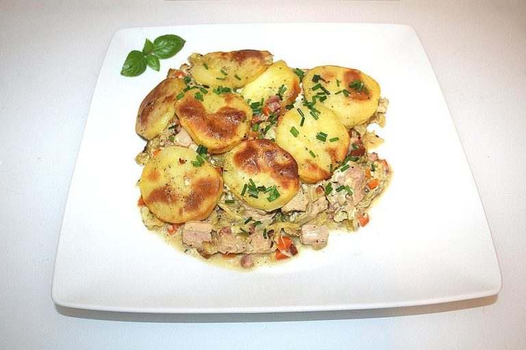 feuervogels Wirsing-Kartoffel-Auflauf mit Kassler