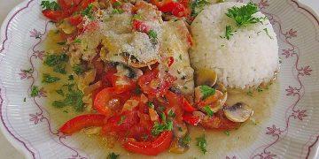 Fischauflauf italienische Art