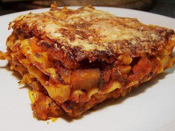 Gemüse-Lasagne vegetarisch