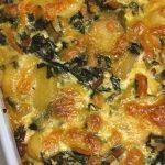 Gemüseauflauf mit Mangold, Karotten und Kartoffeln