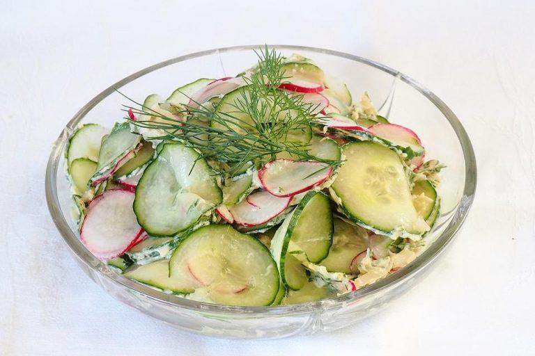 Gurken - Radieschensalat