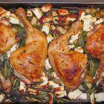 Huhn auf griechische Art