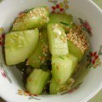 Japanisch-koreanischer Gurkensalat