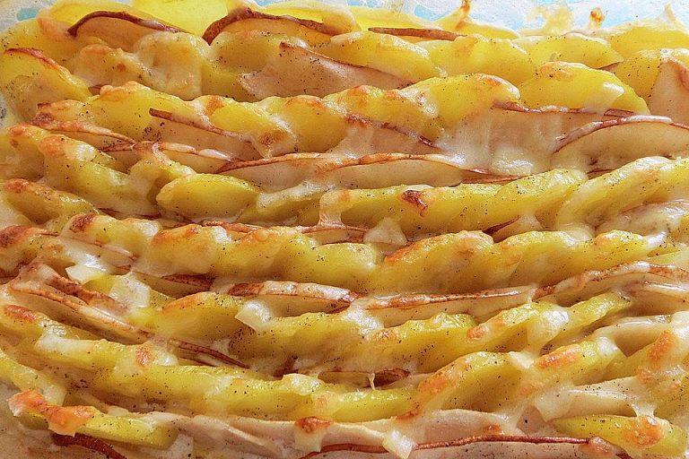 Kartoffel - Birnen - Gratin