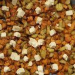Kartoffelduett aus Süßkartoffel und normaler Kartoffel
