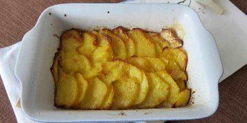 Kartoffelgratin ohne Käse