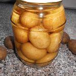 Kartoffeln auf Vorrat