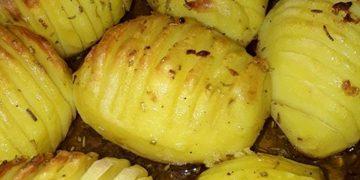 Kartoffeln aus dem Backofen