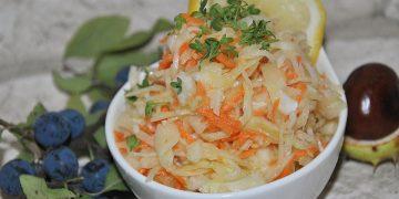 Krautsalat auf griechische Art