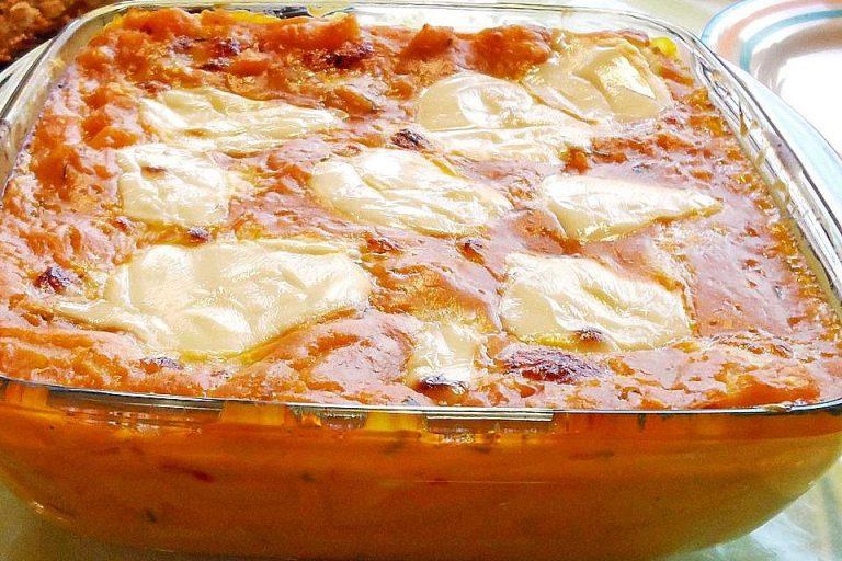 Kürbis - Mozzarella - Lasagne