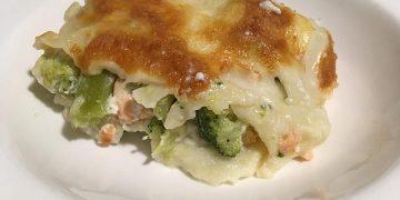Lachs - Brokkoli - Lasagne