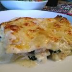 Lachs-Spinat-Lasagne