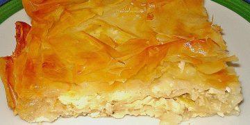 Lauch - Käse - Pita