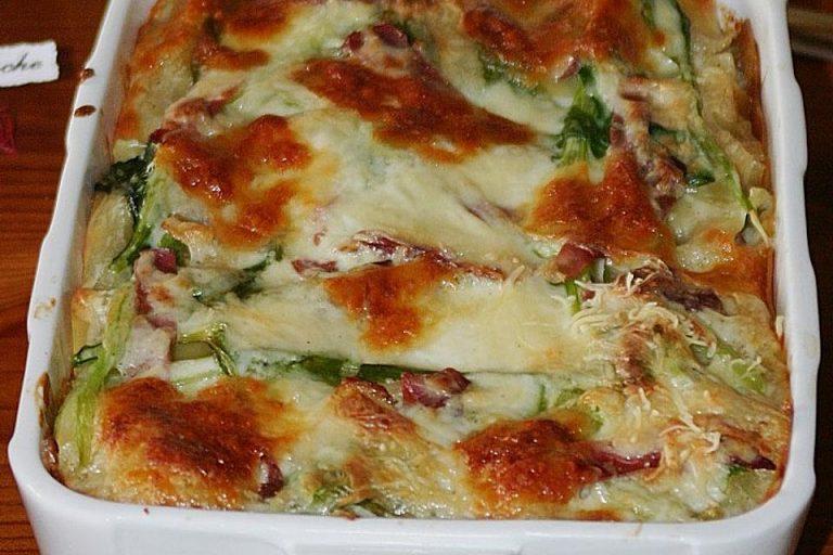 Mangold - Lasagne