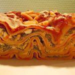 Mangold-Lasagne mit Schafskäse