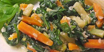 Mangold-Möhren-Gemüse
