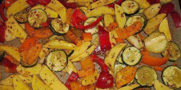 Mediterrane 24 h - Ofen - Kartoffelecken