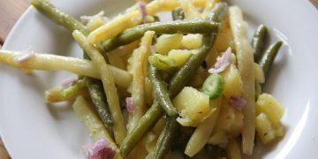 Omas Bohnensalat