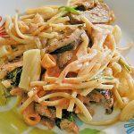 Pastagratin mit Auberginen und Spinat