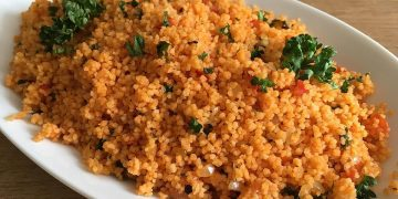 Pikanter Tomaten - Couscous