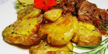 Quetschkartoffeln vom Backblech – Crushed Potatoes