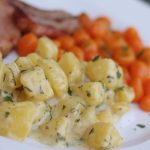 Rahmkartoffeln mit Schmelzkäse