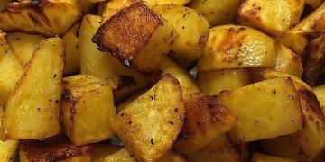 Röstkartoffeln aus dem Backofen