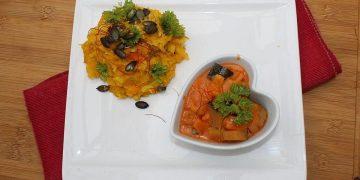 Roros würziges Paprika - Zucchini - Gemüse mit Zwiebeln und Knoblauch
