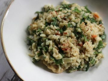 Sauerampfer - Risotto