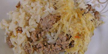 Sauerkrautauflauf á la Keggi