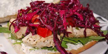 Schneller Rotkohlsalat