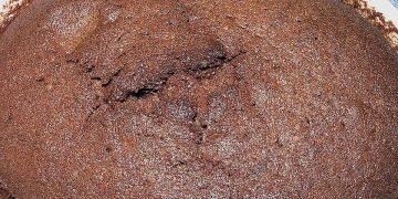 Schokoladenauflauf mit flüssigem Kern