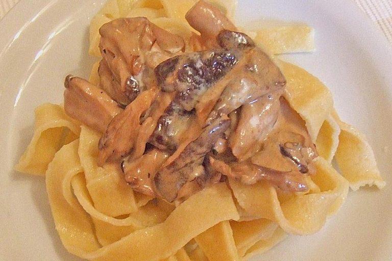 Shiitake - Pilz - Sauce