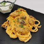 Spaghetti-Gyros Auflauf