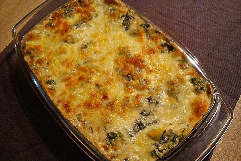 Spinat - Gorgonzola - Lasagne