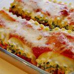 Spinat-Quark Lasagne