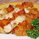 Süßkartoffel - Hähnchen - Auflauf