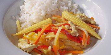 Thailändisches Curry - Kokos - Hähnchen