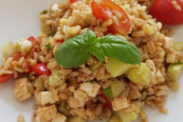 Tomaten-Mozzarella-Salat mit Ebly