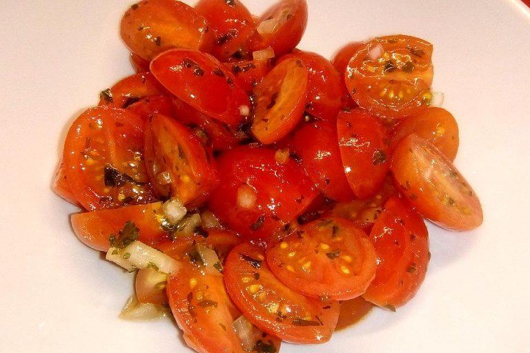 Tomatensalat für Anfänger