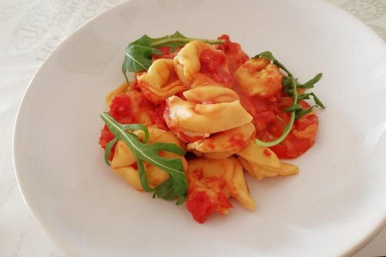 Tortellini - Mozzarella Auflauf