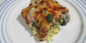 Tortellini - Spinat - Auflauf